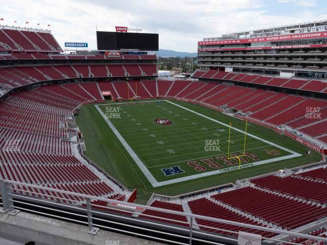 Levi's Stadium Section 306 view