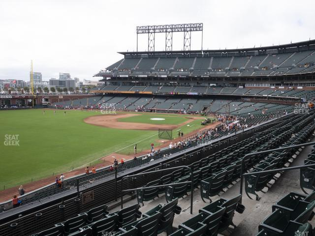 Oracle Park Section 232 view