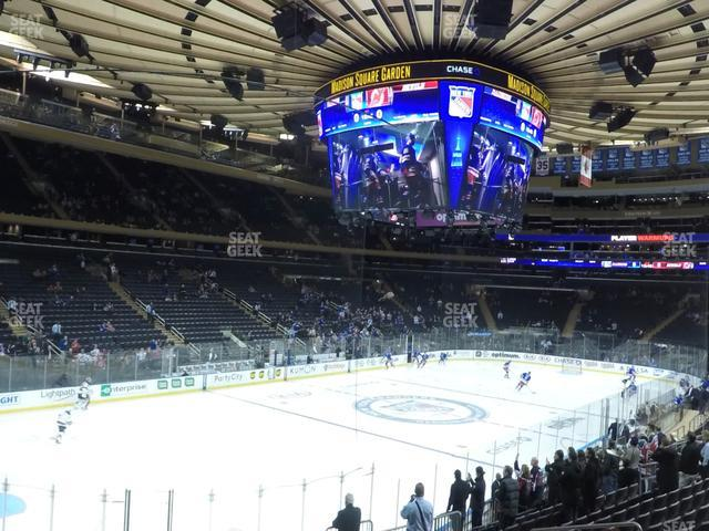 Madison Square Garden Section 114 view