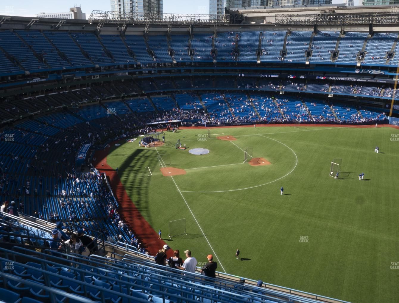 Toronto Blue Jays at Rogers Centre Section 510 R View