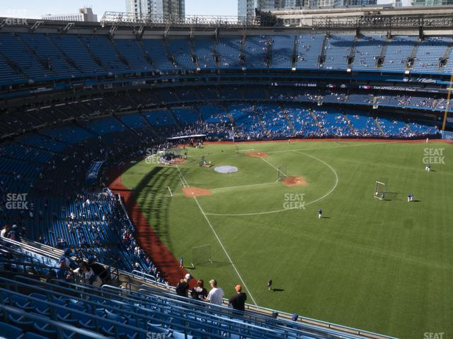 Rogers Centre Section 510 R view