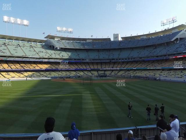 Dodger Stadium Left Field Pavilion 311 view