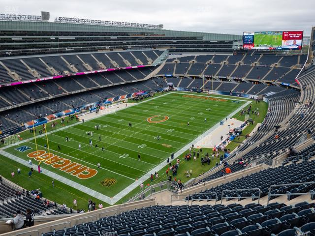 Soldier Field Section 445 view