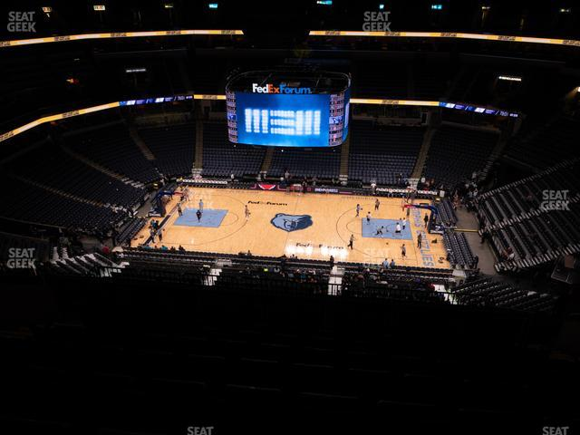 FedExForum Section 225 view