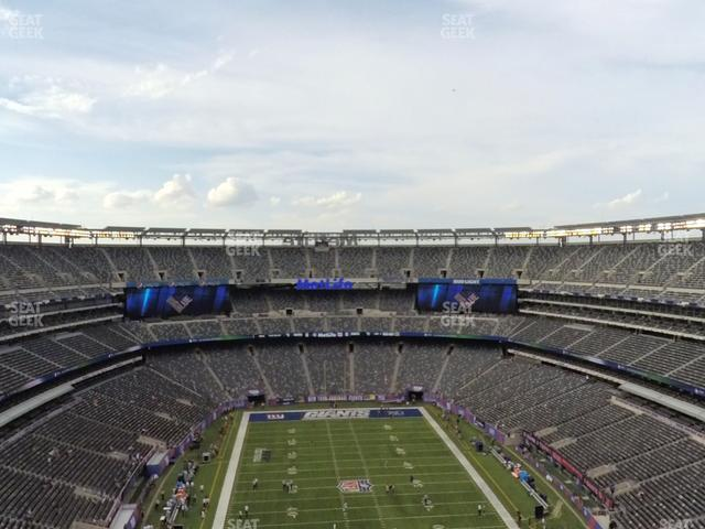 MetLife Stadium Section 327 view