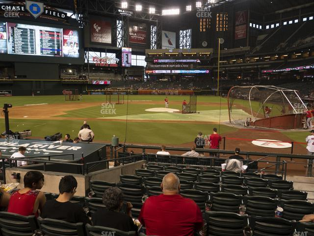 Chase Field Section M view