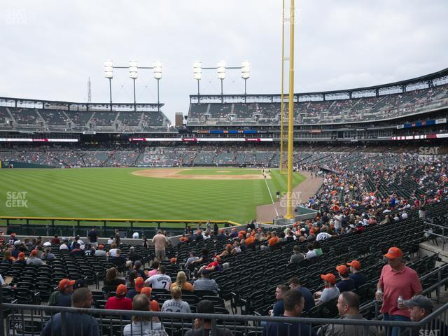 Comerica Park Section 146 view