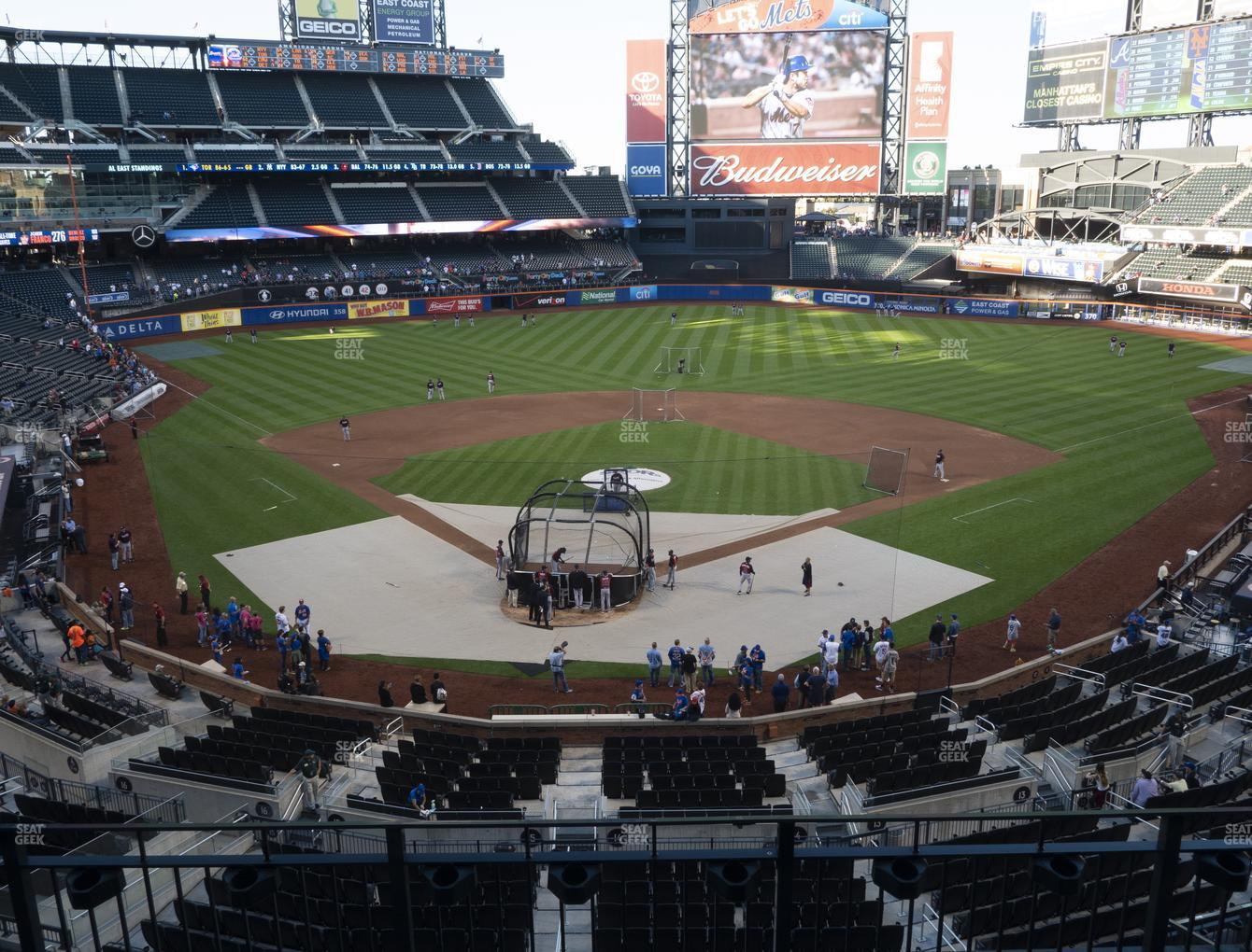 New York Mets at Citi Field Section 318 View