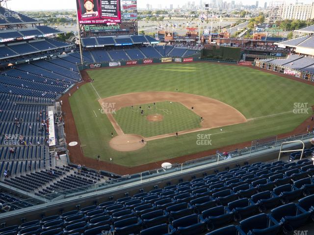 Citizens Bank Park Section 418 view