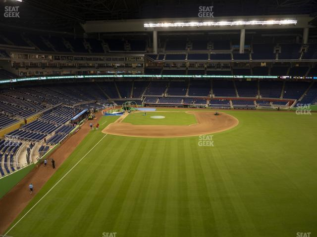 Marlins Park Section 140 view
