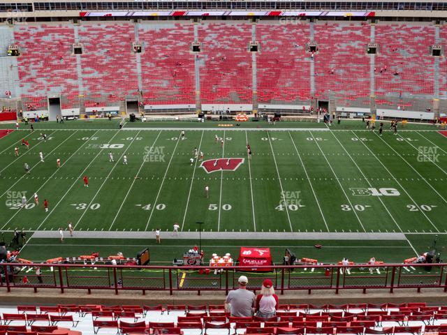 Camp Randall Stadium Section FF view