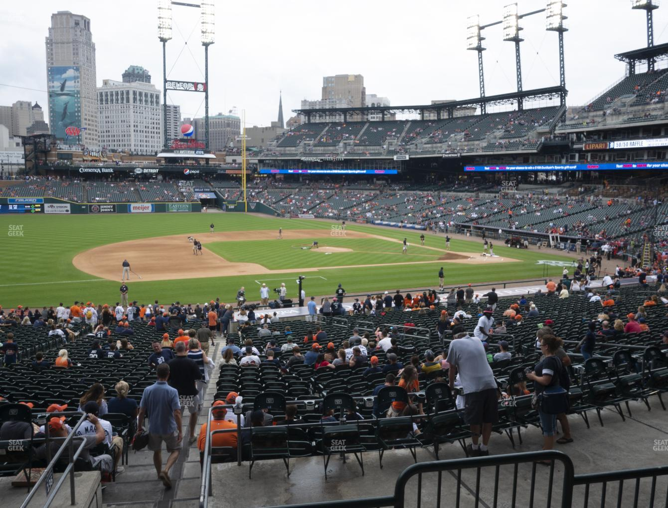 Detroit Tigers at Comerica Park Section 135 View