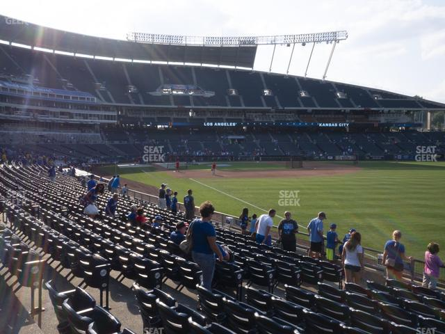 Kauffman Stadium Section 145 view