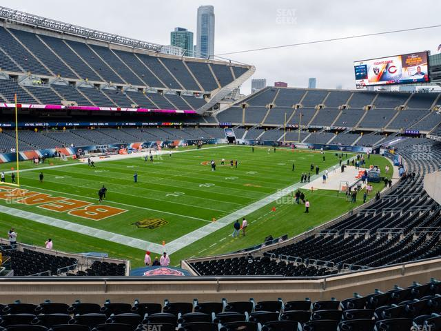 Soldier Field Section 218 view