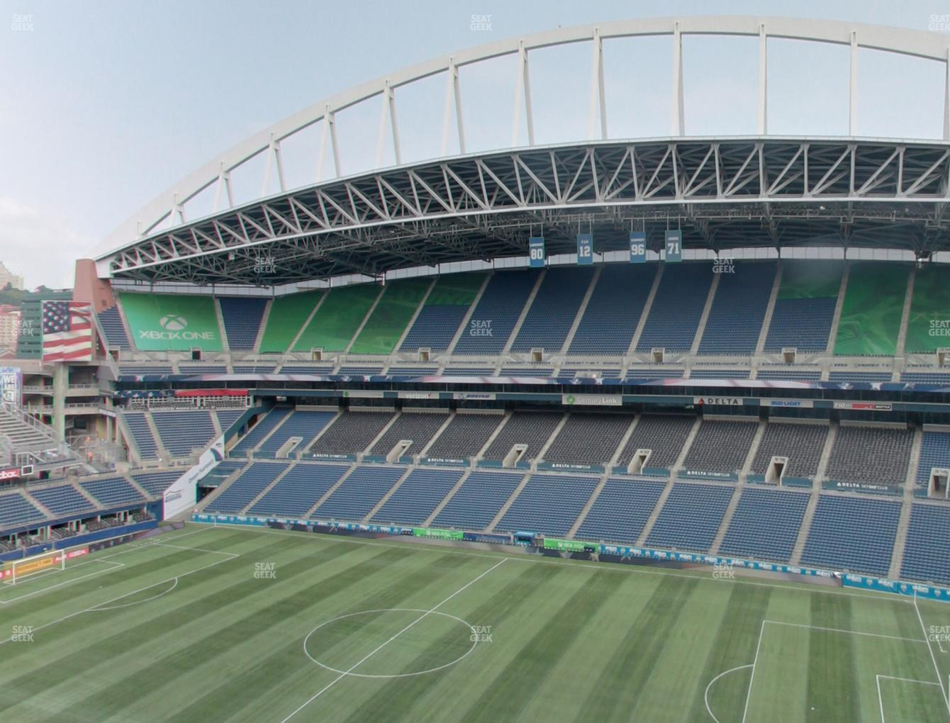 Seattle Sounders FC at CenturyLink Field Lower 331 View