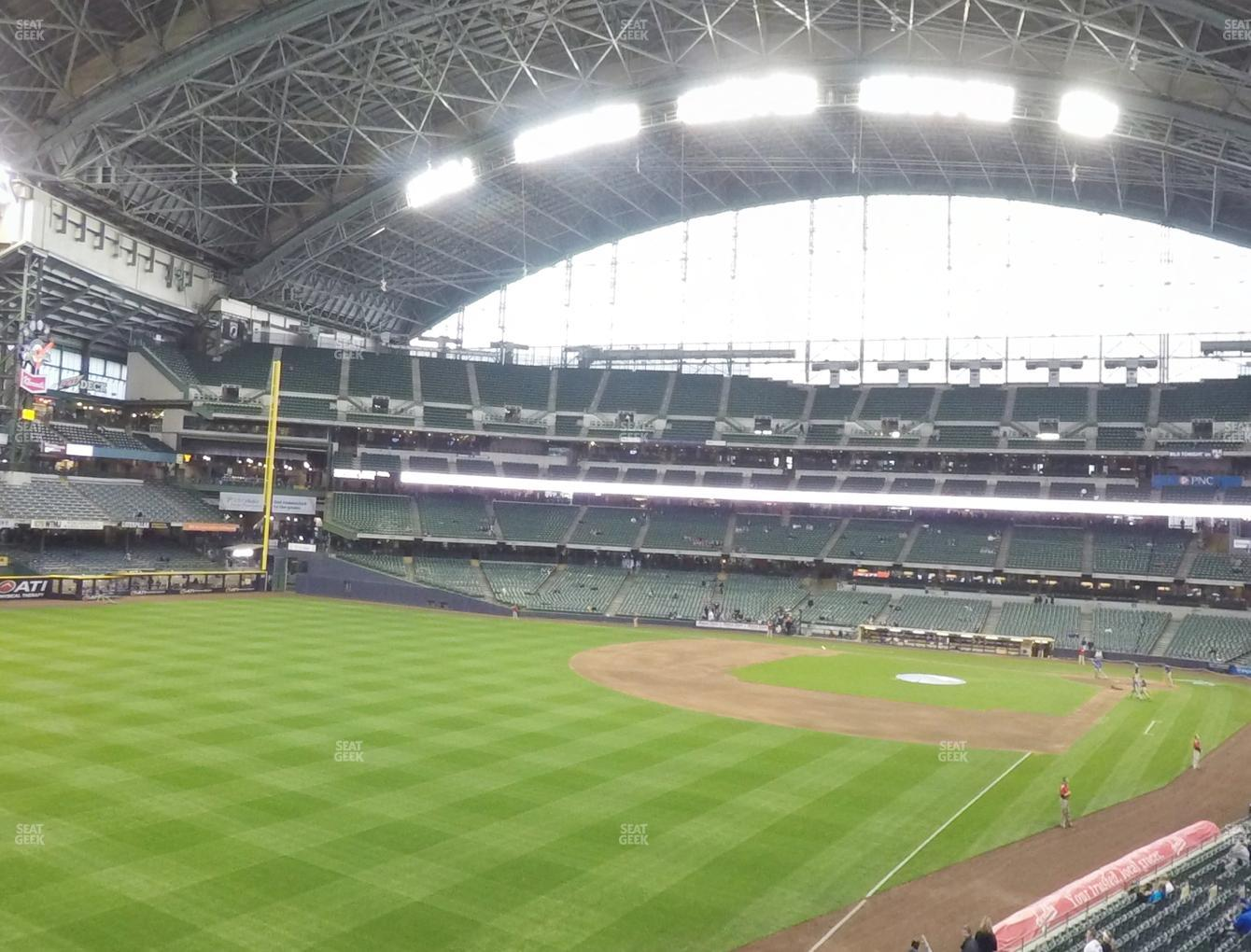 Milwaukee Brewers at American Family Field Section 232 View