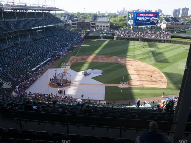 Wrigley Field 422 Right view