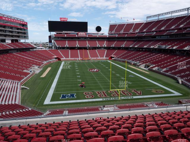 Levi's Stadium Section 230 view