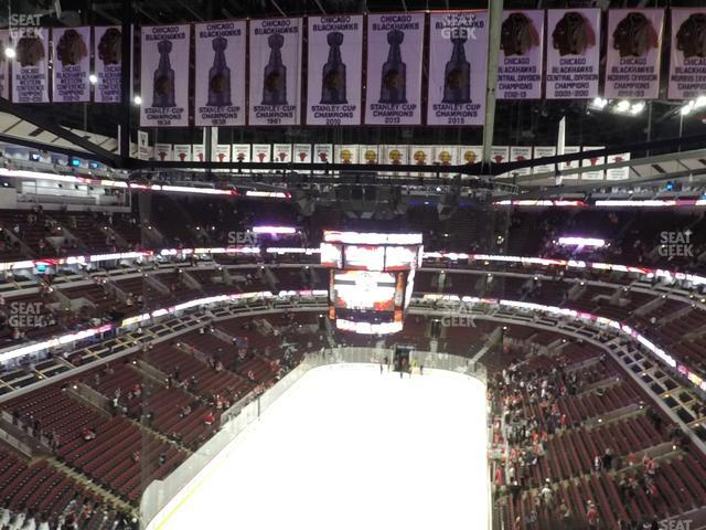 United Center Section 308 view