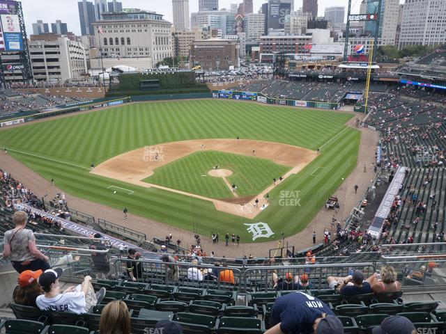 Comerica Park Section 329 view