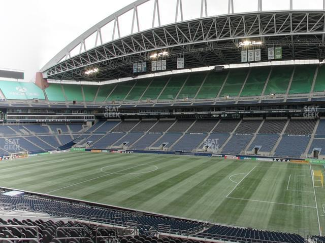 CenturyLink Field Section Club 205 view