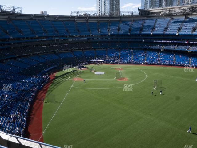 Rogers Centre Section 507 R view