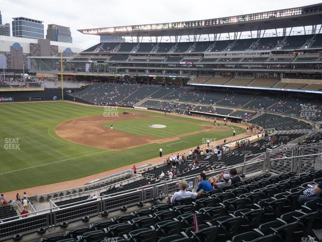 Target Field Section Deck S view