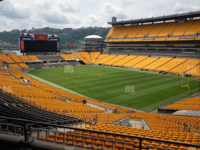 Heinz Field North Club 001 view