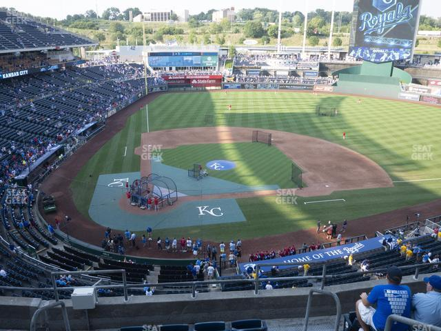 Kauffman Stadium Section 426 view