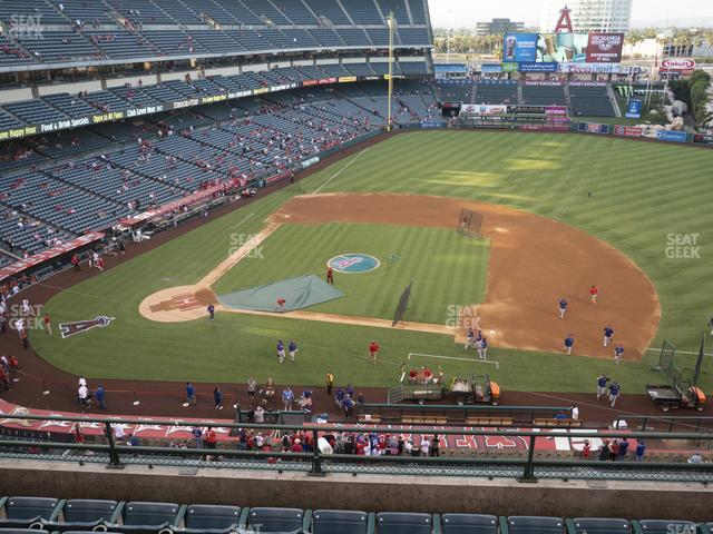 Angel Stadium of Anaheim Section 425 view