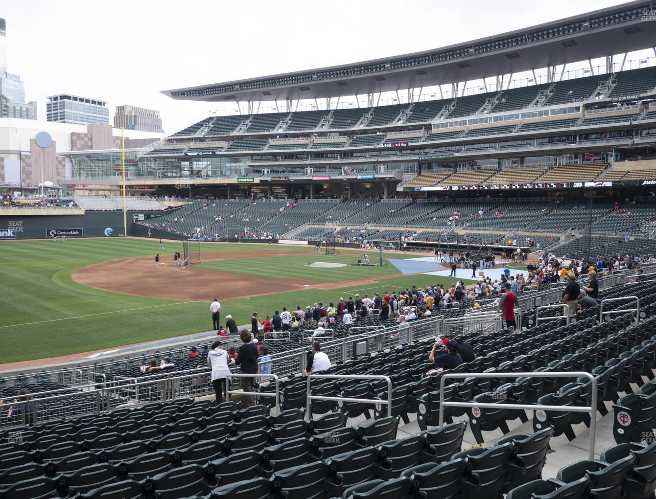 Minnesota Twins at Target Field Section 123 View