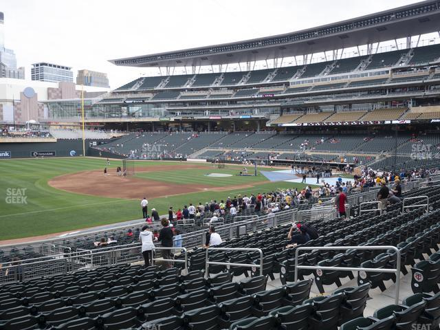 Target Field Section 123 view