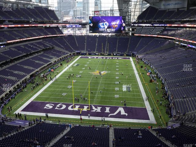 U.S. Bank Stadium Section 325 view
