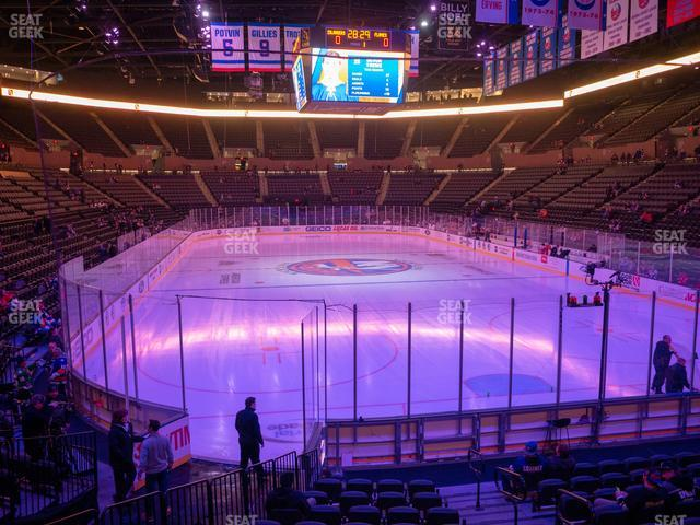 Nassau Veterans Memorial Coliseum Section 125 view