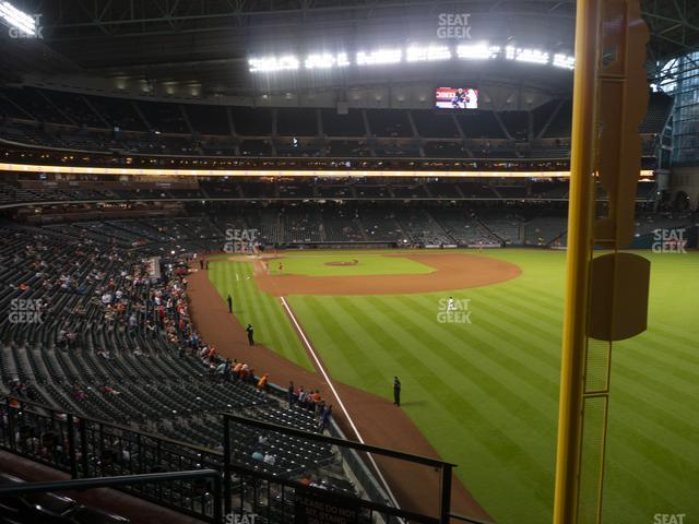 Minute Maid Park Section 236 view