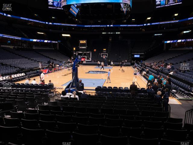 FedExForum Section 110 view