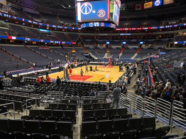 Capital One Arena Section 118 view