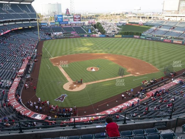 Angel Stadium of Anaheim Section 421 view