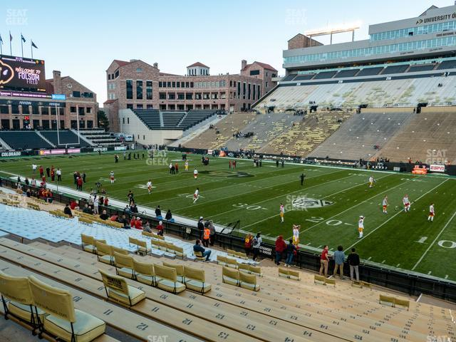 Folsom Field Section 108 view