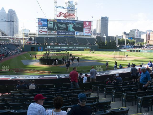 Progressive Field Section 151 view
