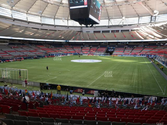 BC Place Stadium Section 251 view