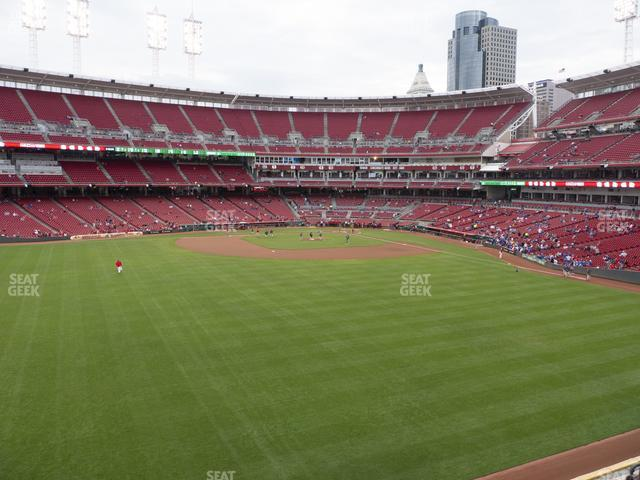 Great American Ball Park Section 401 view