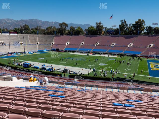 The Rose Bowl Upper 21 L view