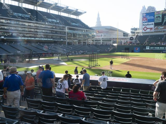 Progressive Field Section 140 view