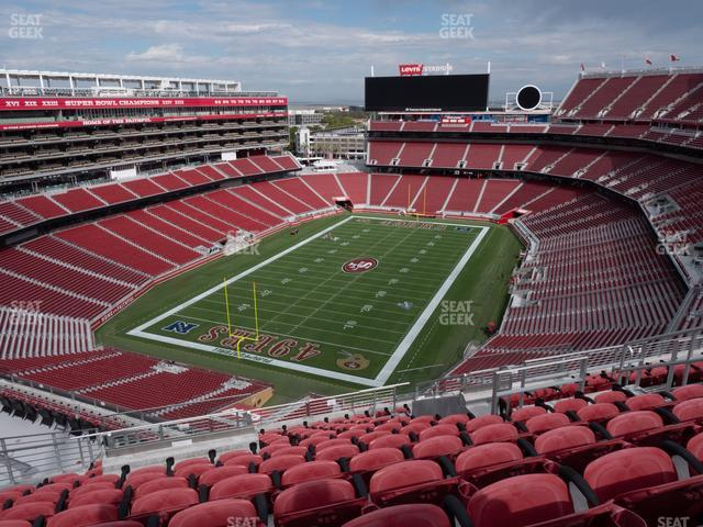 Levi's Stadium Section 422 view