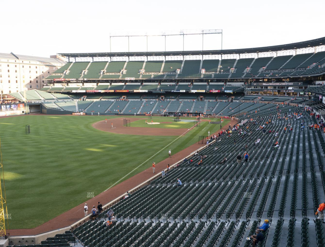 Baltimore Orioles at Oriole Park at Camden Yards Section 272 View