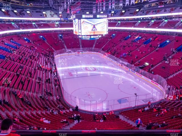 Bell Centre Section 220 view