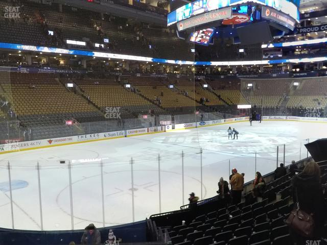 Scotiabank Arena Section 122 view
