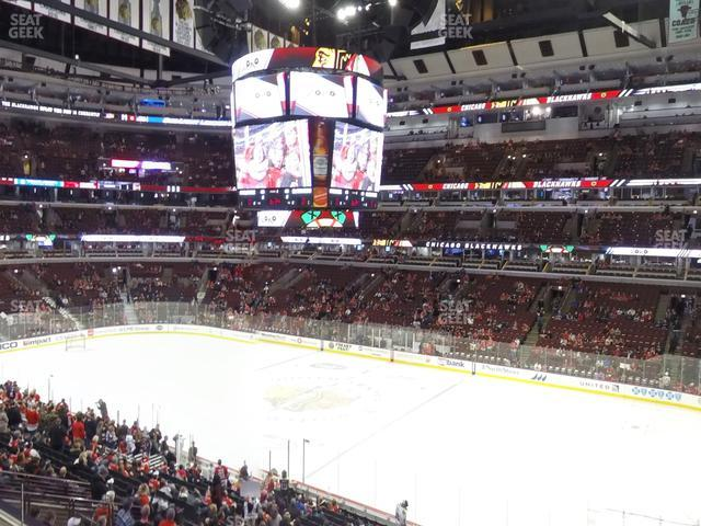 United Center Section 232 view