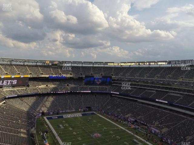MetLife Stadium Section 305 view